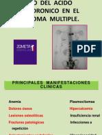 Uso Del Acido Zoledronico en El Mieloma Multiple1