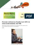 Processo eleitoral na Paraíba terá 100% de urnas modernizadas, diz TRE