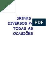 DRINKS PARA TODAS OCASIÕES