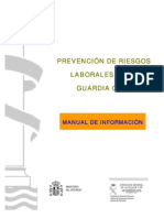 Manual Prevencion Riesgos Laborales en La Guardia Civil