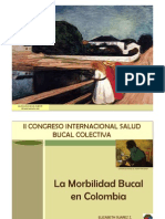 2.1 Morbilidad Bucal Colombia