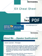 Oracle Application Express Cheat Sheet