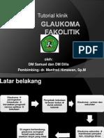 Glaukoma fakolitik