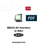 7860077 RS232 to DALI Command List V4