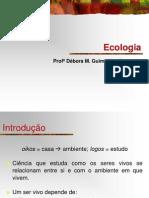 1. Ecologia - Conceitos Básicos