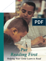 (eBook CHILDREN Education) Put Reading First - Helping Your Child Learn to Read - Preschool Through Grade 3
