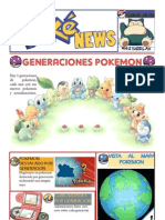 Genraciones Pokemon