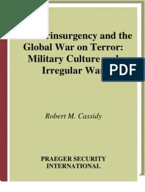 Counterinsurgency And The Global War On Terror- Military Culture And  Irregular War | Insurgency | Al Qaeda