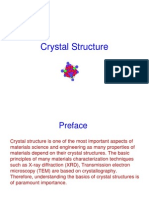 4 - Crystal Structure