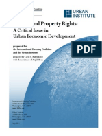 Gender and Property Rights