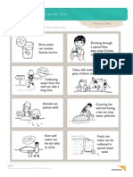 Water Jumble Activity Worksheet