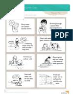 Water Jumble Activity Worksheet