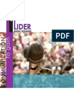 Lider Media Training Brochure - English