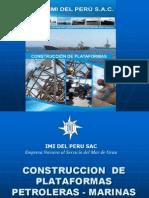 Construccion de Plataformas Petroleras