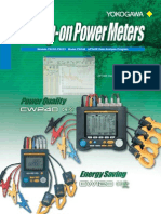 Yokogawa power analyzer catalogue