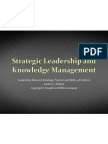 10 Strategic Leadership and Knowledge Managment