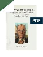 32185399 Umberto Eco Lector in Fabula La Cooperacion Interpretativa en El Texto Narrativo 1979