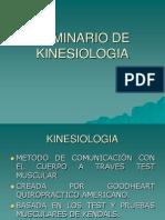 SEMINARIO  KINESIOLOGIA
