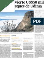 PNUD invierte 50 mil dolares en bosques y ecologia