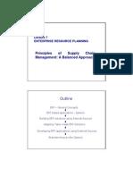 LECTURE 7-Enterprise Resource Planning