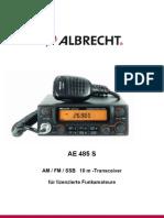 Manual Albrecht AE485S 2006 Version De