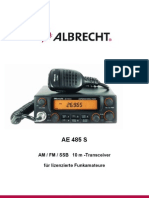 Manual Albrecht AE485S 2006 Version De