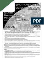 Prova do concurso para delegado da Polícia Federal