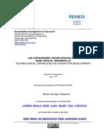Álvaro Carvajal Villaplana Las capacidades tecnológicas como base para el desarrollo