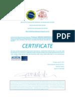 Magda Marinho Sabia Certifica Do Em Ingles Institute of Education