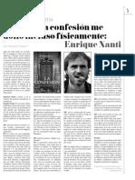 La confesión de Enrique Nanti en Milenio Zacatecas