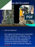 Biomas Del Ecuador