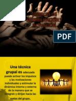 TÉCNICAS DE SENSIBILIZACIÓN Y ACTUACIÓN