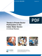WSP Trends Private Sector Participation India Water 1 Copy