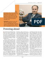 Business India- Executive Focus Aug 2011