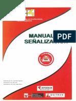 MANUAL DE SEÑALIZACIONES