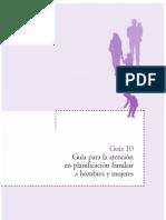 Guia 10 Planificación familiar