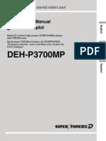 Pioneer 187294998DEH P3700MPOperationManual