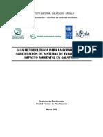 Guia Metodologica Evaluacion Impacto Ambiental
