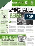 Spring 2012 Pig Tales Newsletter