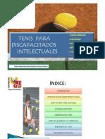 Tenis Adaptado Discapacidad Intelectual