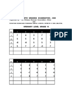 Set 1 Grading Mental (10,9,8,7,6,5,4,3,2,1)