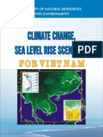 Climate Change and Sea Level Rise Scenarios for Vietnam