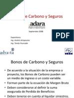 Bonos de Carbono y Seguros - LEA