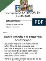 Comercio Exterior en Ecuador