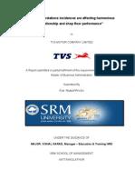 TVS Motor final report.doc