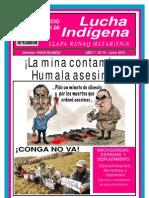 Lucha Indígena Edición N° 70