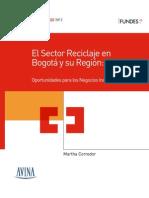 El Sector Reciclaje en Bogota y Su Region