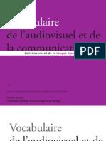 Vocabulaire Audiovisuel 2010