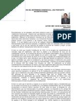ARTÍCULO - LEGALIZACIÓN DEL MATRIMONIO HOMOSEXUAL, UNA PROPUESTA INCONSTITUCIONAL