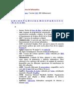 Diccionario básico de Informática
